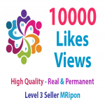 10000 Real and Non-Drop Photo Likes or 10000 Video Views