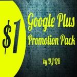 Google Plus Promotion Pack