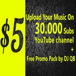 Upload your music on 31.000+ Subscribers YouTube channel and also do promotion