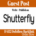 Publish Guest Post On creativepost. ShutterFly. com DA82 Wesbite