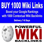 200 Wiki Mix profiles & articles,  200 Wiki articles,  100 Article directories