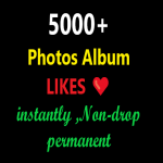 Get Real Human social photos album 5000+ Llikes instantly with 1 hour