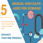 Get Your GOOGLE Serp Higher With 5 Permanent DA35+ PBNs Backlinks