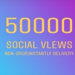 50k+ social audience non-drop& super fast delivery