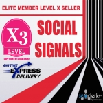 Mixed 30,000 Social Signals Share - For Website Or Video Promotion & Ranking To Google First Page