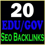 Create manually 20 Edu-Gov safe high PR seo backlinks