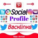 Create 100 High Authority DA/PA OffPage Social Profile Backlinks