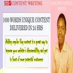 1000 unique articles/blogs in half a day