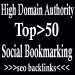 Top 50 Most High PR Social Bookmarking Seo Backlinks